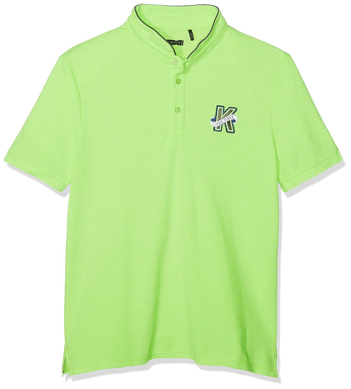IKKS Polo, Verde (Vert Fluo 53), 10 años (Talla de Fabricante:10A ...