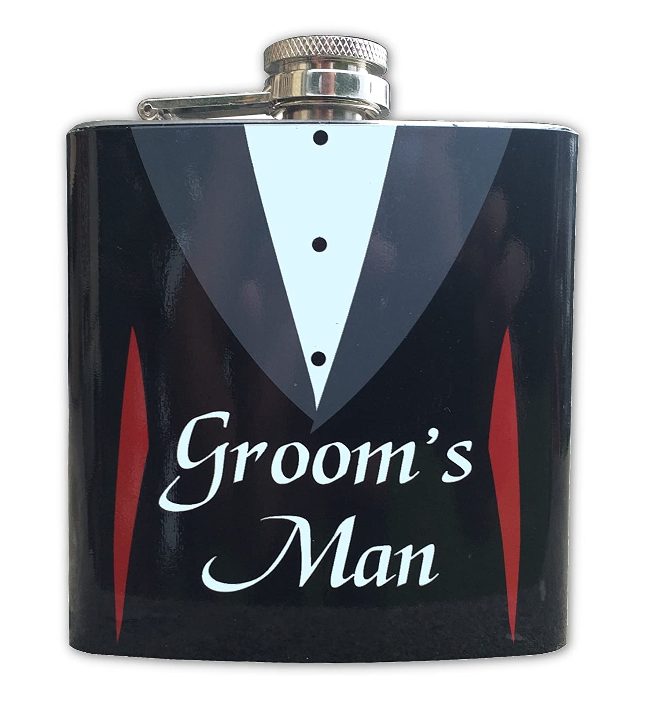 素晴らしい品質 Groom Flask B00ZE8TY8C and Groomsmenギフト6オンスヒップフラスコ Groom's Groom Man Flask B00ZE8TY8C, 戸塚区:81d49954 --- woxpedia.com