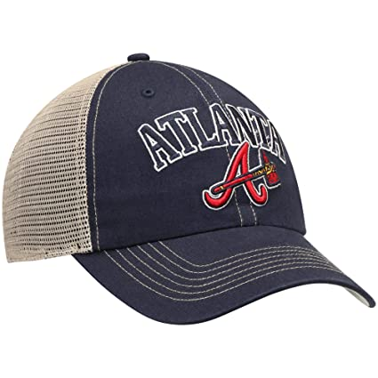 2b29b591f Amazon.com : Fan Favorite MLB Atlanta Braves Aliquippa Adjustable Hat :  Sports & Outdoors