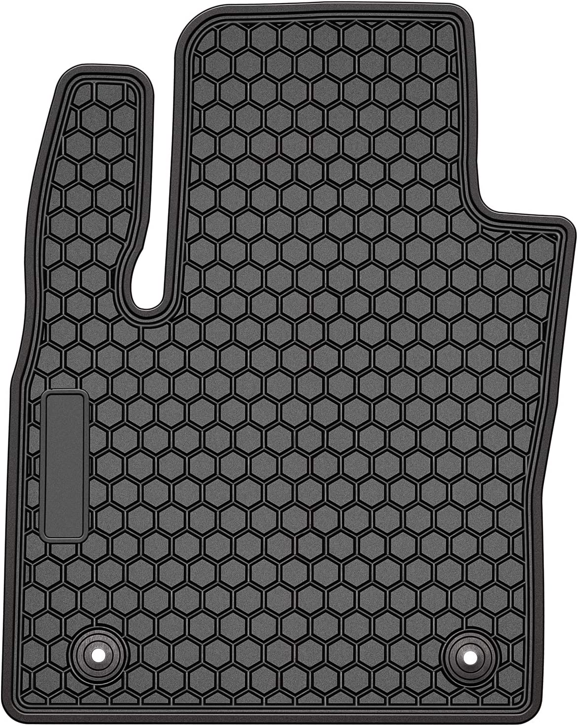 Pack of 3 Bonbo Floor Liner Mats for Ford Fusion 2013-2019,Custom Fit,Front and Rear Seat Floor Mats,All-Weather Guard,Heavy Duty Rubber,Odorless