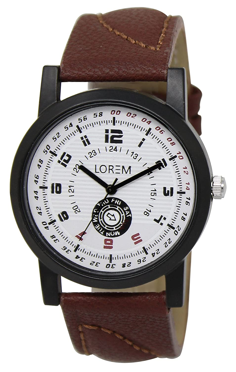 DC Enterprise Casual Analogue White Dial Men Watch
