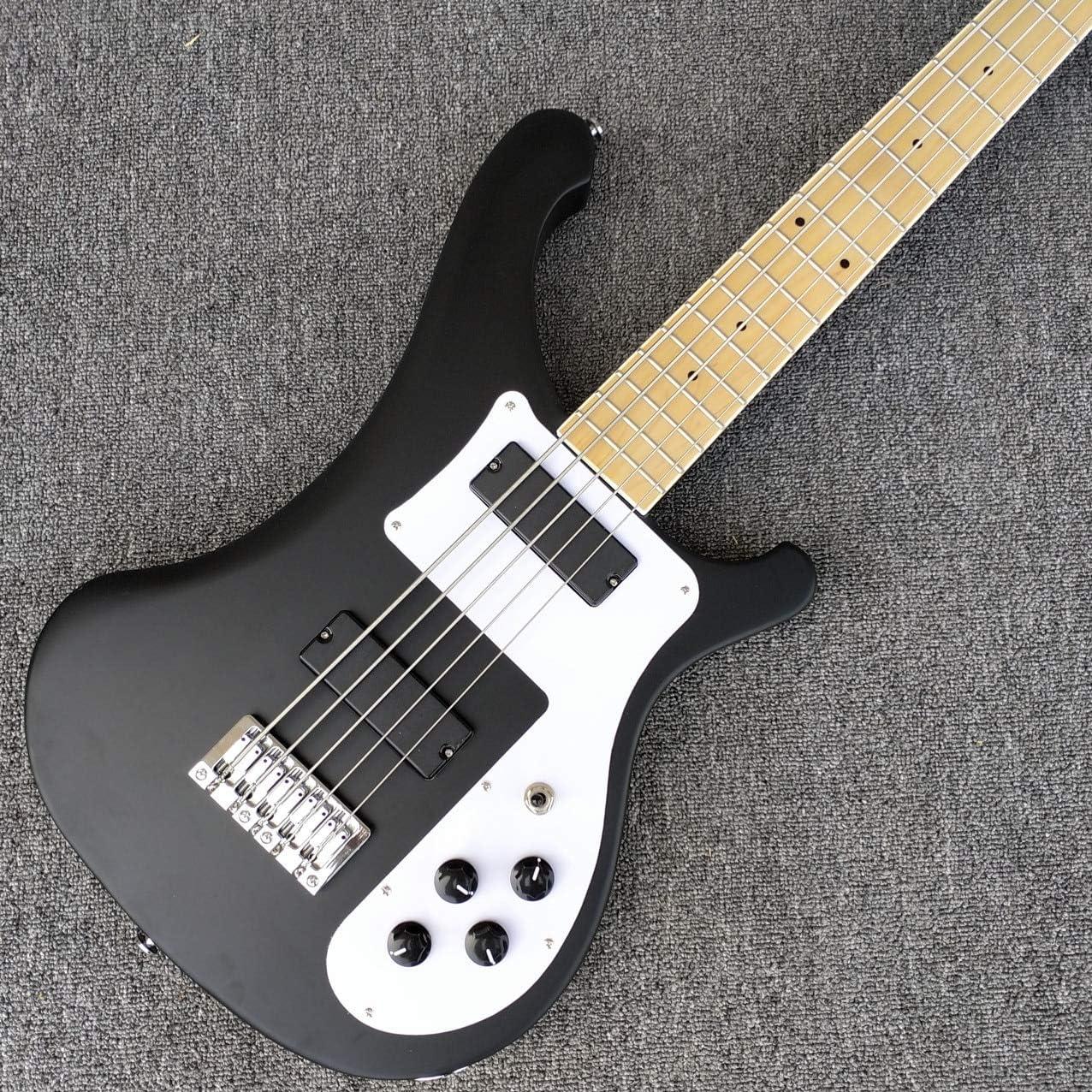 Guitarra eléctrica, 5 cuerdas, guitarra de bajo y diapasón de arce ...