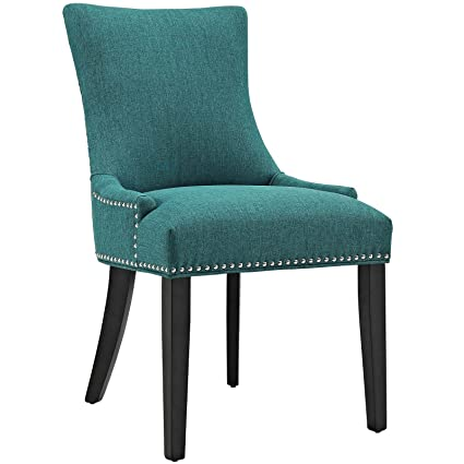 Good Modway Marquis Modern Elegant Upholstered Fabric Parsons Dining Side Chair  With Nailhead Trim And Wood Legs