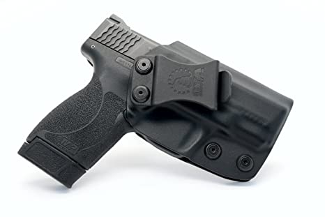 CYA Supply Co  IWB Holster Fits: Smith & Wesson M&P Shield  45 ACP -  Veteran Owned Company - Made in USA - Inside Waistband Concealed Carry  Holster