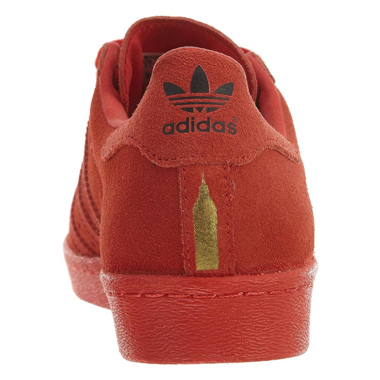 hot sale online e546c ecf34 Amazon.com   adidas Men s Superstar 80s City Red B32664   Running