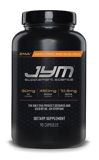 Amazon Com Jym Supplement Science Zma Jym Zinc And Magnesium