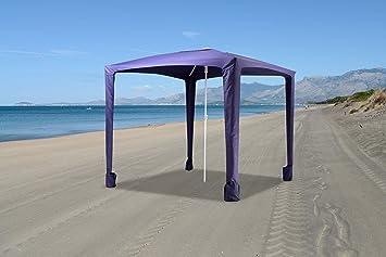 BuyStar Sombrilla Carpa de Playa cm. 200 X 200 X 225H: Amazon.es ...