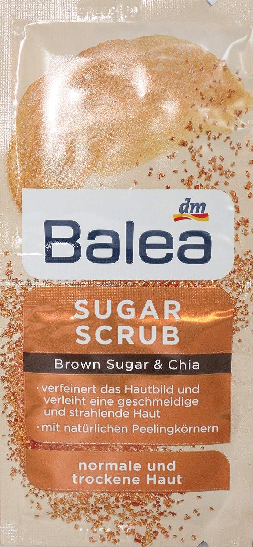 Balea Sugar Scrub Peeling Brown Suger & Chia - Paquete de 10 ...
