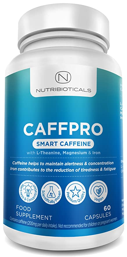 Smart cafeína energía Suplemento | Top Rated nootropics de nutribioticals | L-Theanine (para