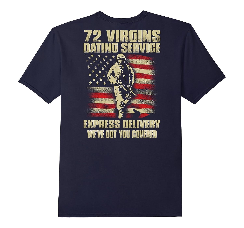 72 Virgins Dating Service T-shirt-TH