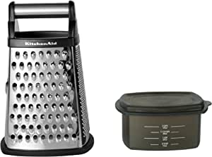 KitchenAid Gourmet Box Grater, Black (KN300OSOBA)