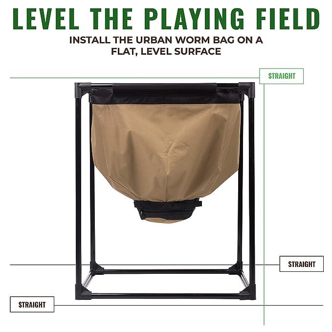 Amazon.com: Urban Worm Bag Worm – Cubo de basura de ...