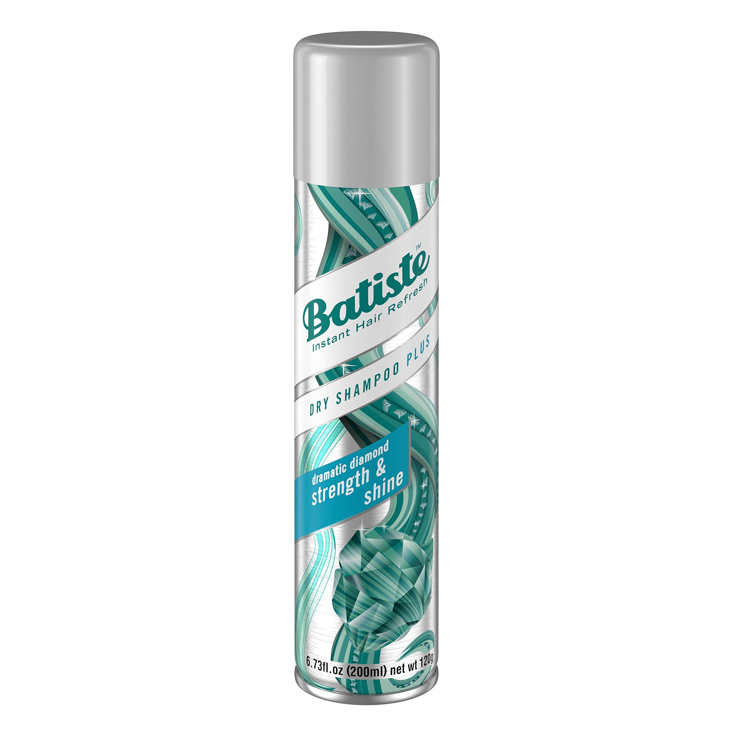 Batiste Dry Shampoo, Strength and Shine, 6.73 Ounce