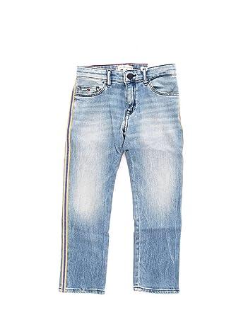3755c4142 Tommy Hilfiger KG0KG04010 2 Pantalones Vaqueros Chica  Amazon.es ...