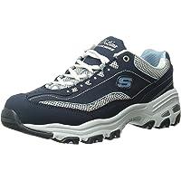 229b7768f148 Skechers Women s D Lites Memory Foam Lace-up Sneaker