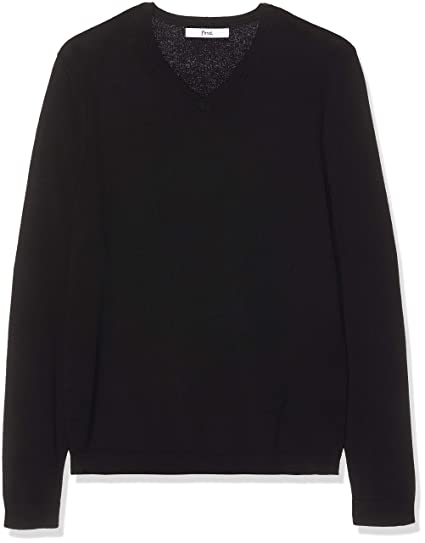Amazon Marke: find. Pullover Herren mit V Ausschnitt und Rippenbündchen