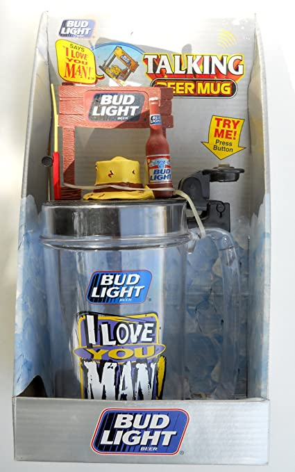 Bud Light Talking Beer Mug