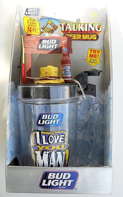 Bud Light Talking Beer Mug