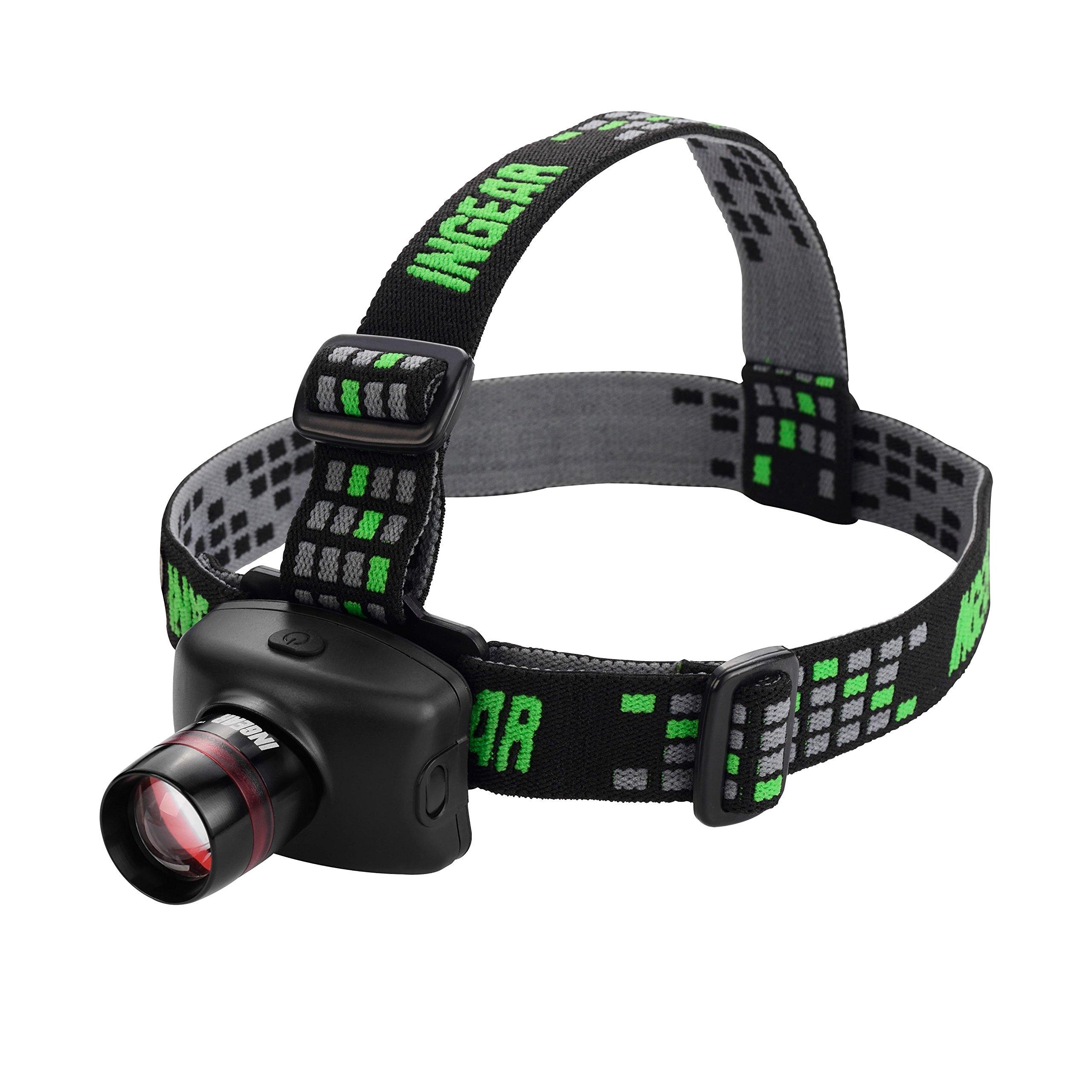 Ingear Zoomable Cree Led Headlamp Flashlight - Ultra Bright 3 Light Mode Hand.. 16