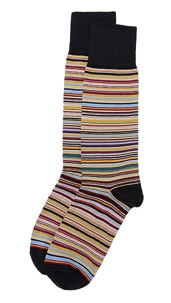 Paul Smith Multi Stripe Hombre Calcetines Varios Colores: Amazon.es: Ropa y accesorios