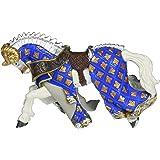 Papo - 39914 - Figurine - Cheval du Maître des Armes Cimier Bélier