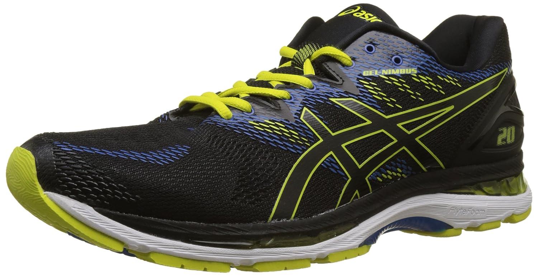 Asics Gel-Nimbus 20, Zapatillas de Running para Hombre 40 EU|Negro (Black/Sulphur Spring/Victoria Blue 9089)