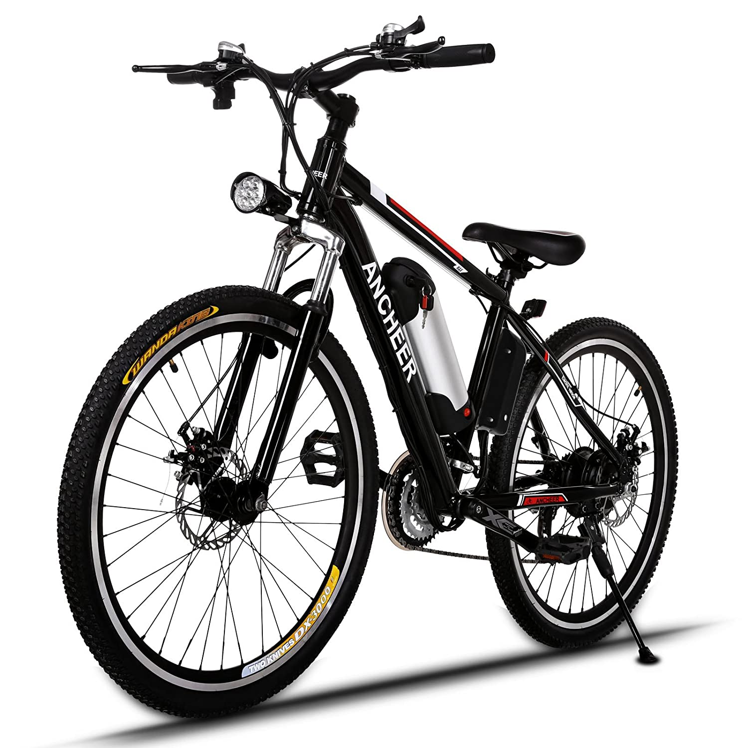 image of black electric bike prebuilt