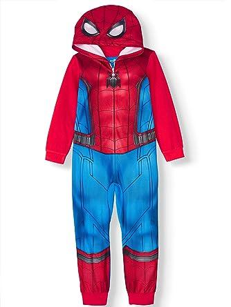 Spider Man Homecoming Traje de uniš®n de pijamas para dormir ...