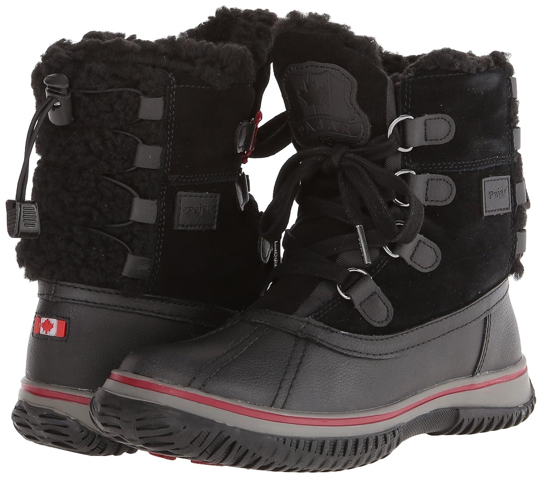 Pajar Women's Iceland Boot B004X9AL3A 36 M EU/5-5.5 B(M) US|Black/Black
