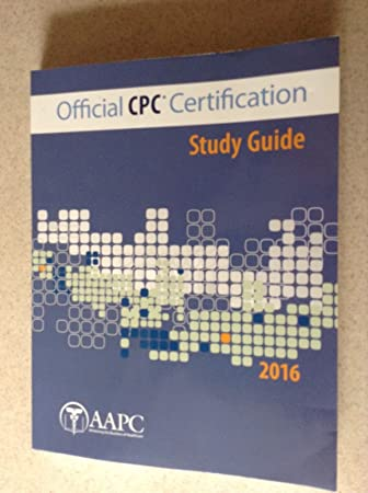 Amazon.com : Official CPC Certification Guide by AAPC : Everything Else