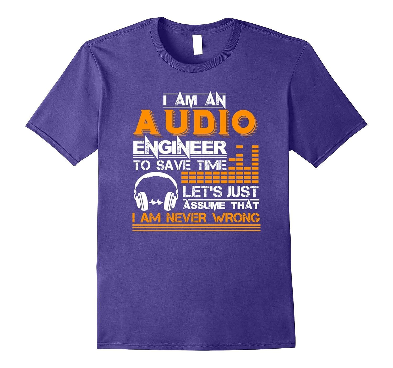 Audio Engineer Tee Shirt-Vaci
