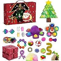 Adventskalender 2021 för barn vuxna |27 st jul nedräkningskalender med rolig och sensorisk fidgetleksak överraskning…