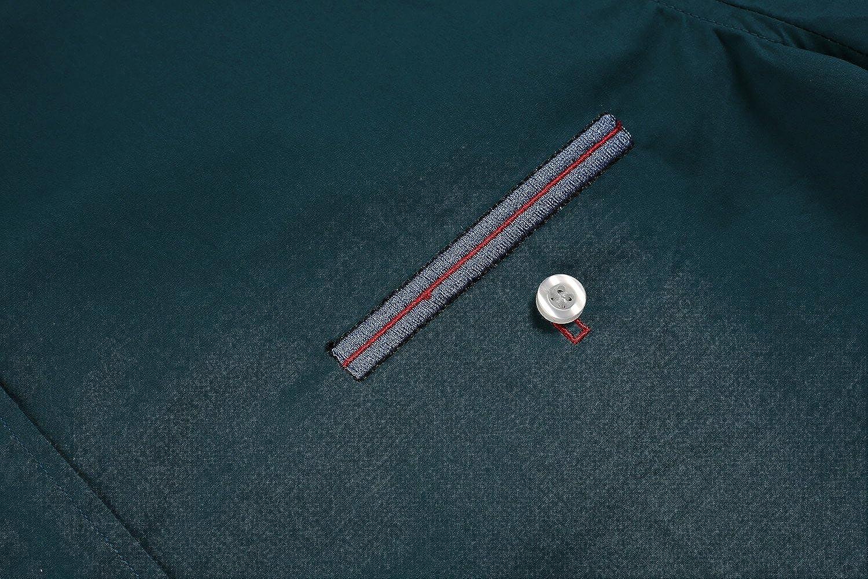 COOFANDY Mens Short Sleeve Slim Fit Button Down Shirt
