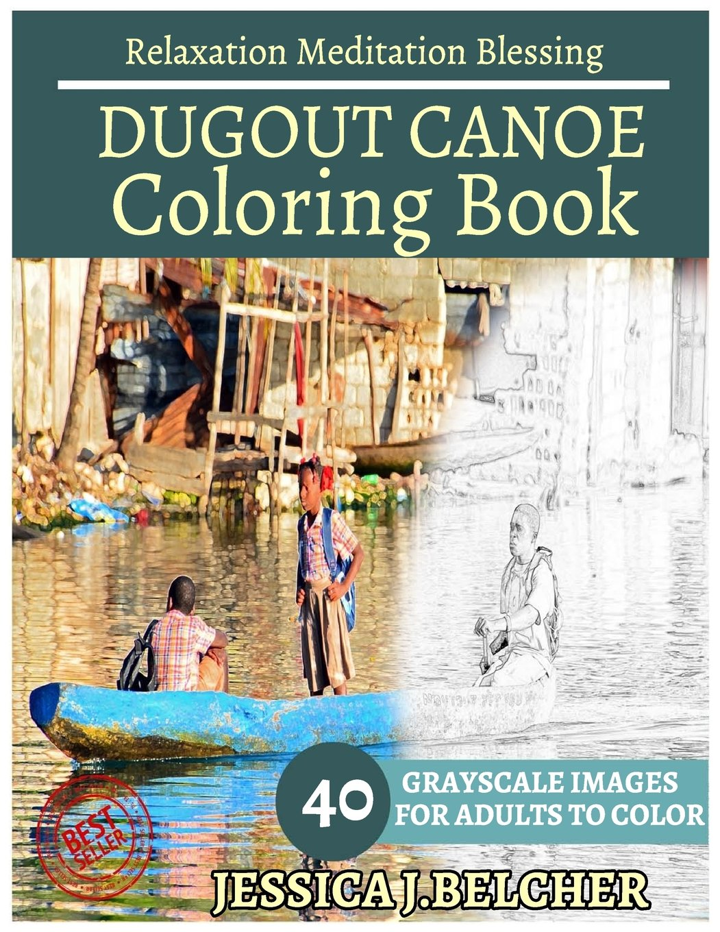 Amazon com: DUGOUT CANOE Coloring Books: For Adults and