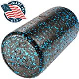 High Density Muscle Foam Rollers by Day 1 Fitness – 4 SIZE OPTIONS and 7 COLORS TO CHOOSE FROM - Sports Massage Rollers for S