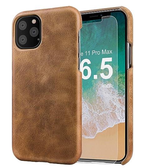 Amazon.com: Funda de piel para iPhone 11 Pro Max con ...