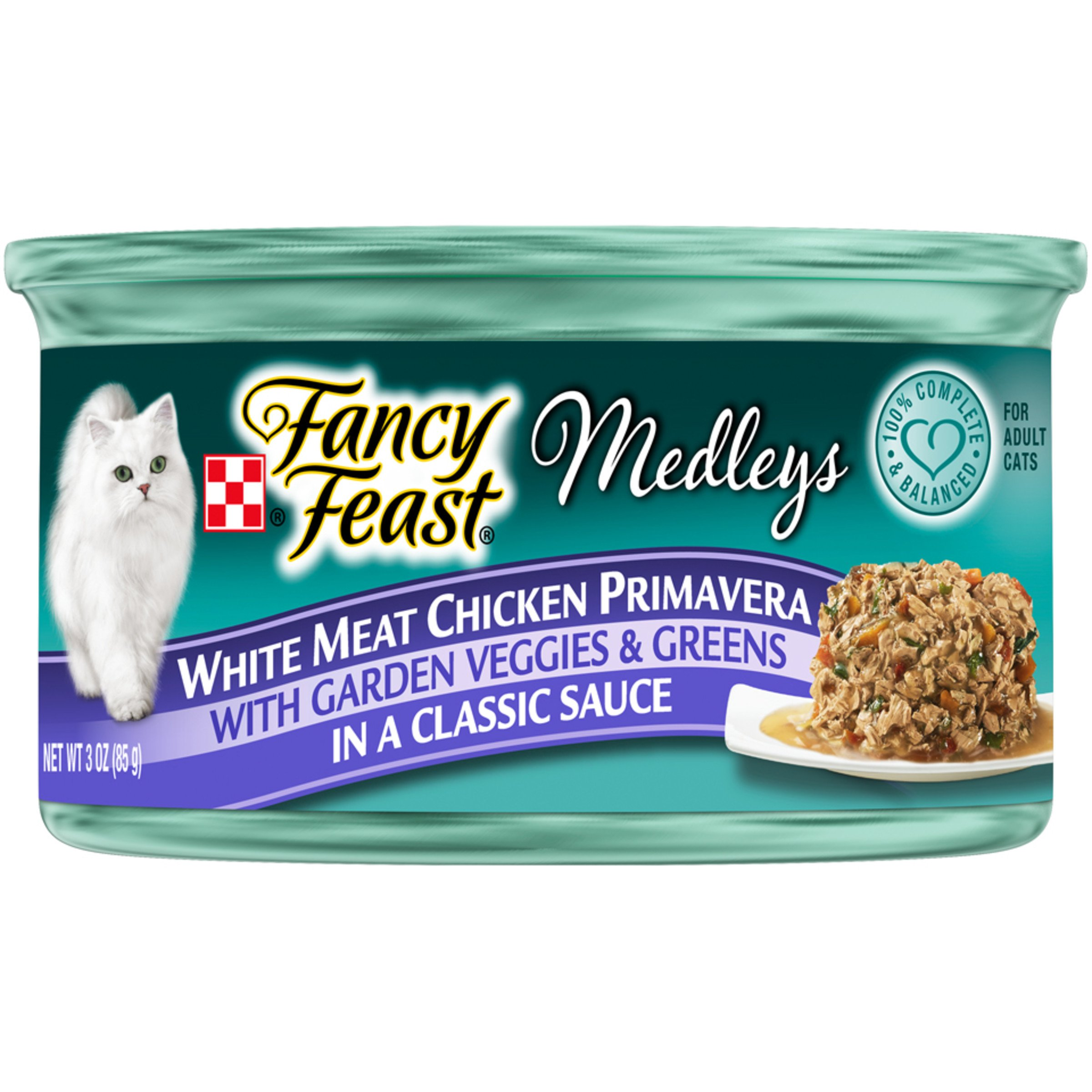 Purina Fancy Feast Medleys Adult Canned Wet Cat Food - (24) 3 oz.