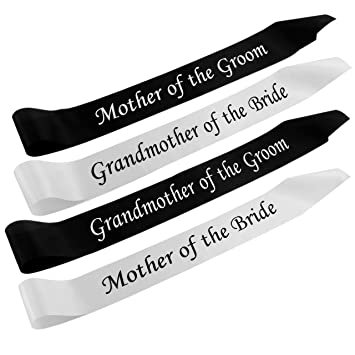 Sashes for Mother of Groom