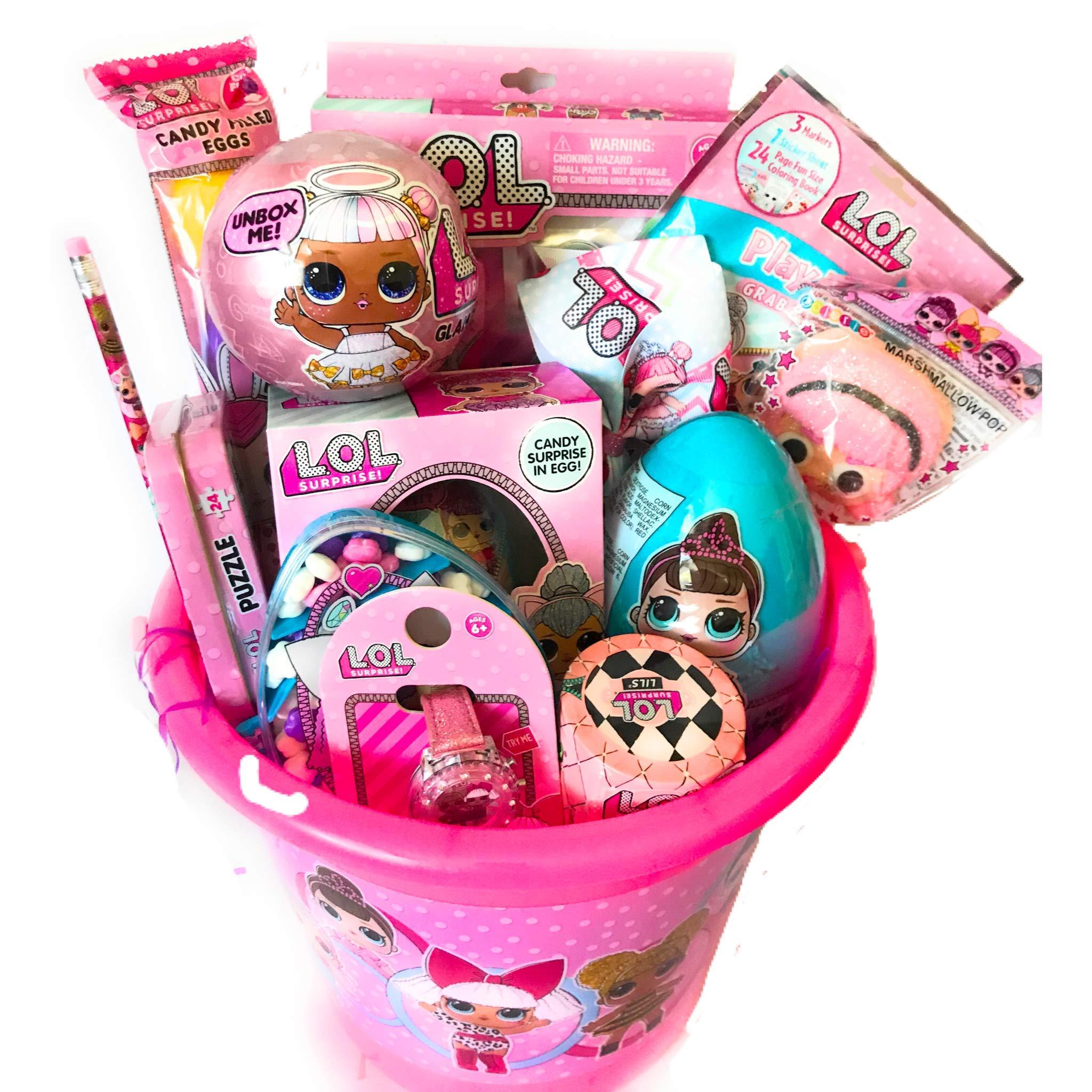 LOL Surprises Easter Basket, Makeover Series, Hairgoals, Lil Sis