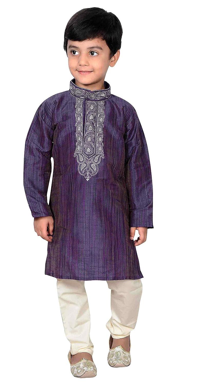 Desi Sarees Chicos Sherwani Niños Kurta Pijama Bollywood Creación ...