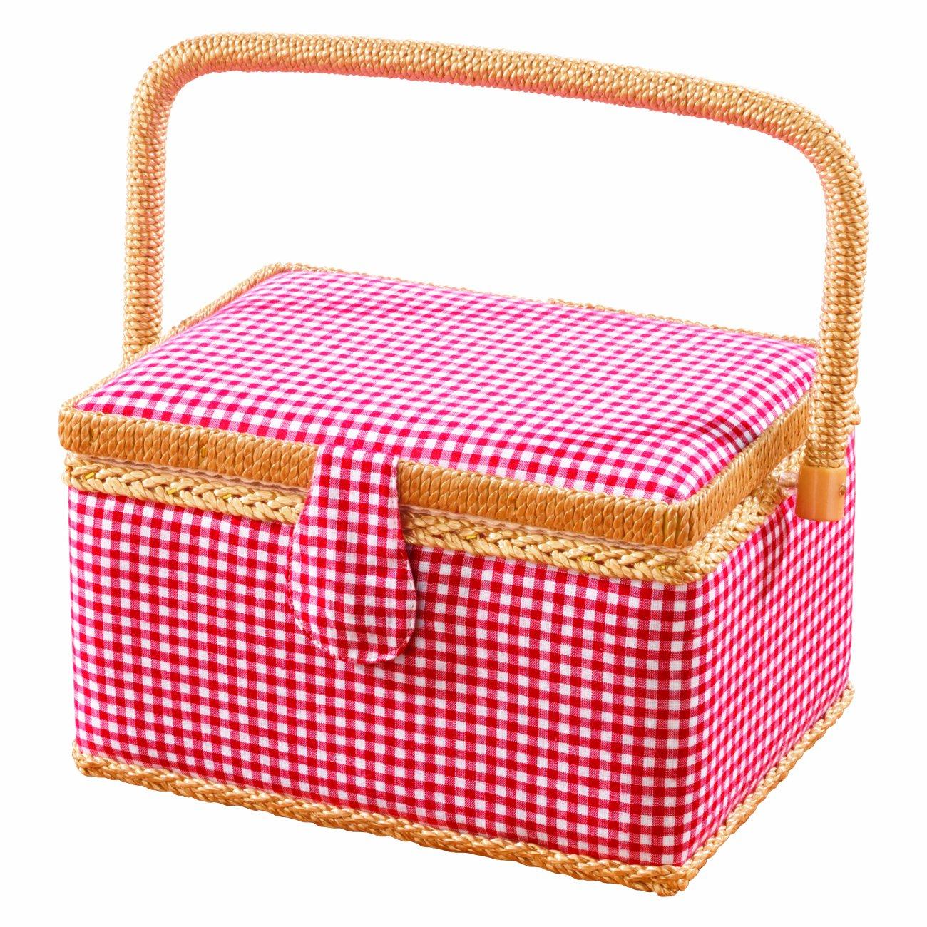 EASYmaxx 08242200400 Sewing Basket with 76 Accessories TV Das Original