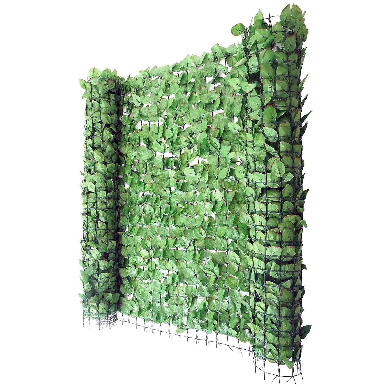 Reticolato per privacy decorativo T811 giardino balcone plastica poliestere 300x