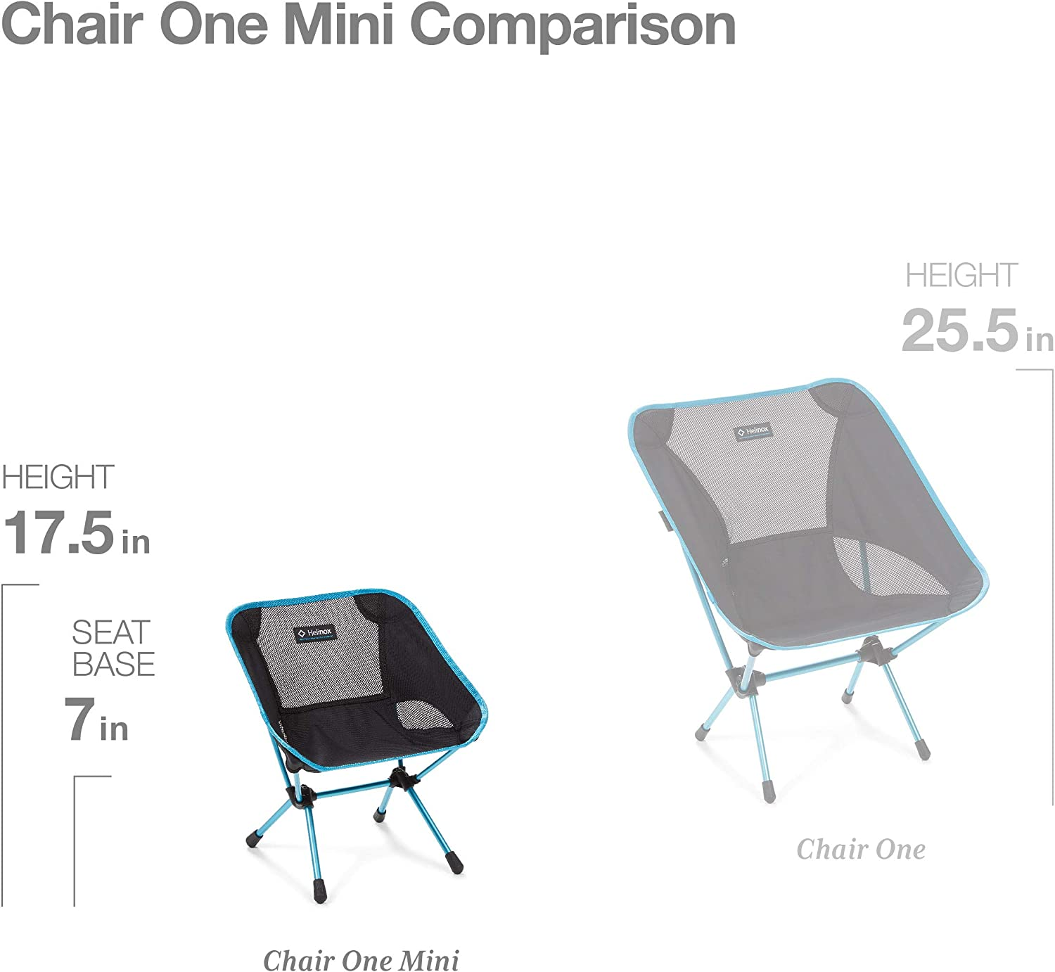 Helinox Chair One Mini Camping Chair One Size Black