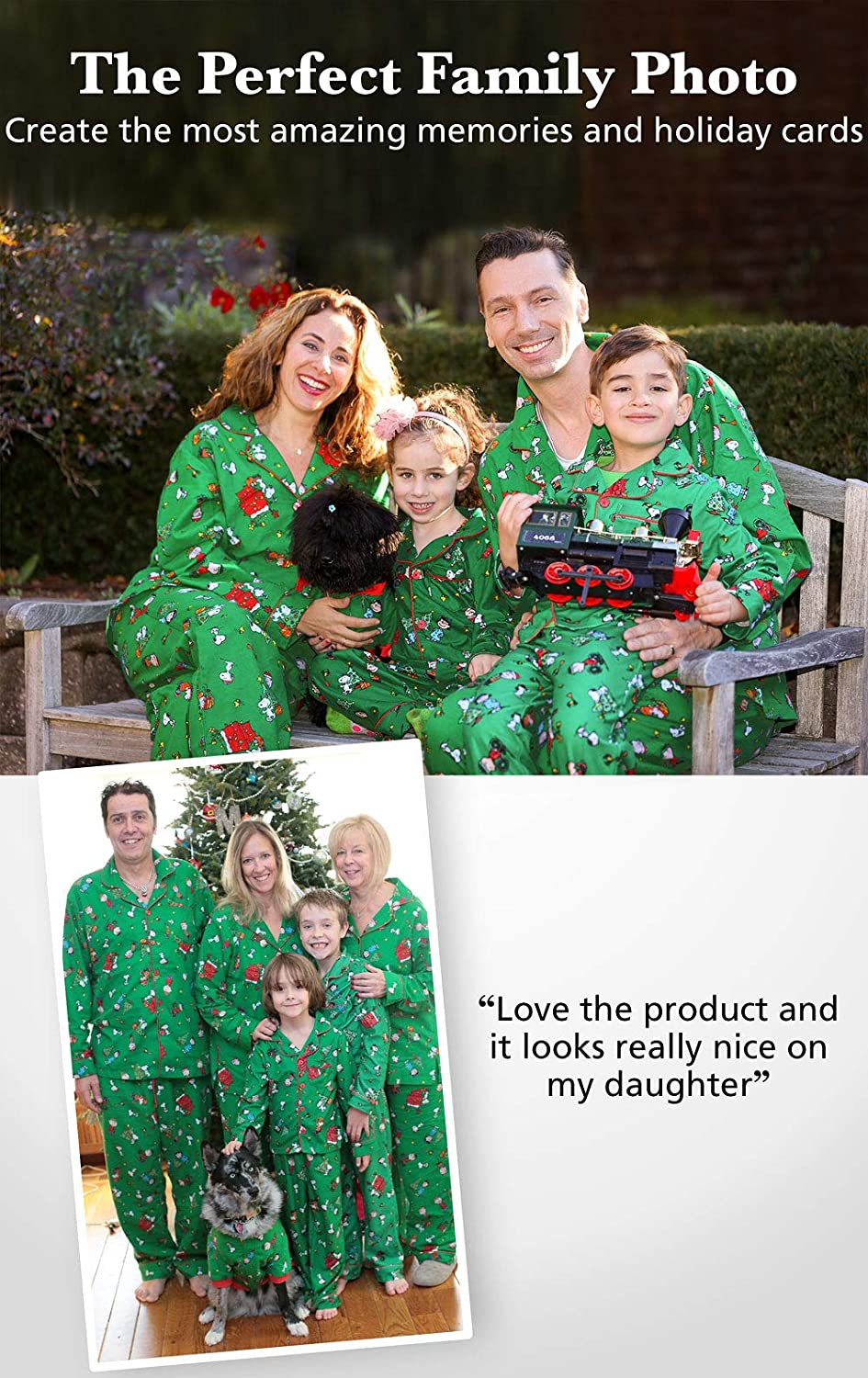 ebb9e1e55f PajamaGram Family Christmas Pajamas Soft - Christmas Pajamas for Family