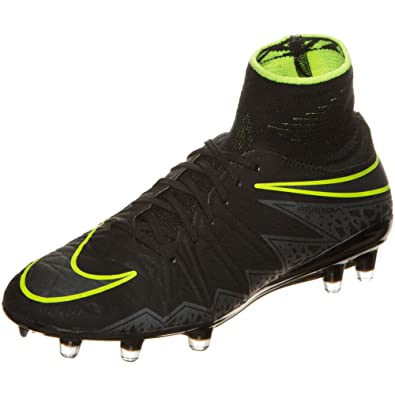 747213-009 Men's Hypervenom II (FG) Outdoor Synthetic Soccer Cleats Lightweight and Comfortable Football Shoes For Firm Ground Short-Grass and Slightly Wet Fields
