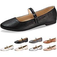CINAK Womens USAC006 Mary Jane Flats, Oxford, Ballet Flats, Cassual Shoes