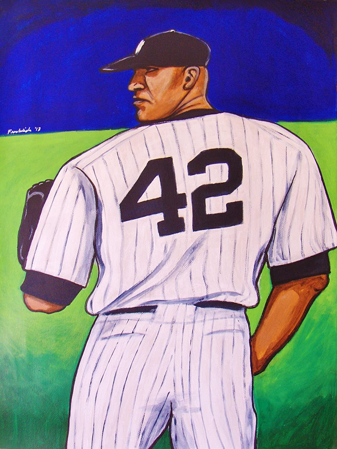 save off ad18c d78fc Amazon.com: MARIANO RIVERA PRINT POSTER man cave birthday ...