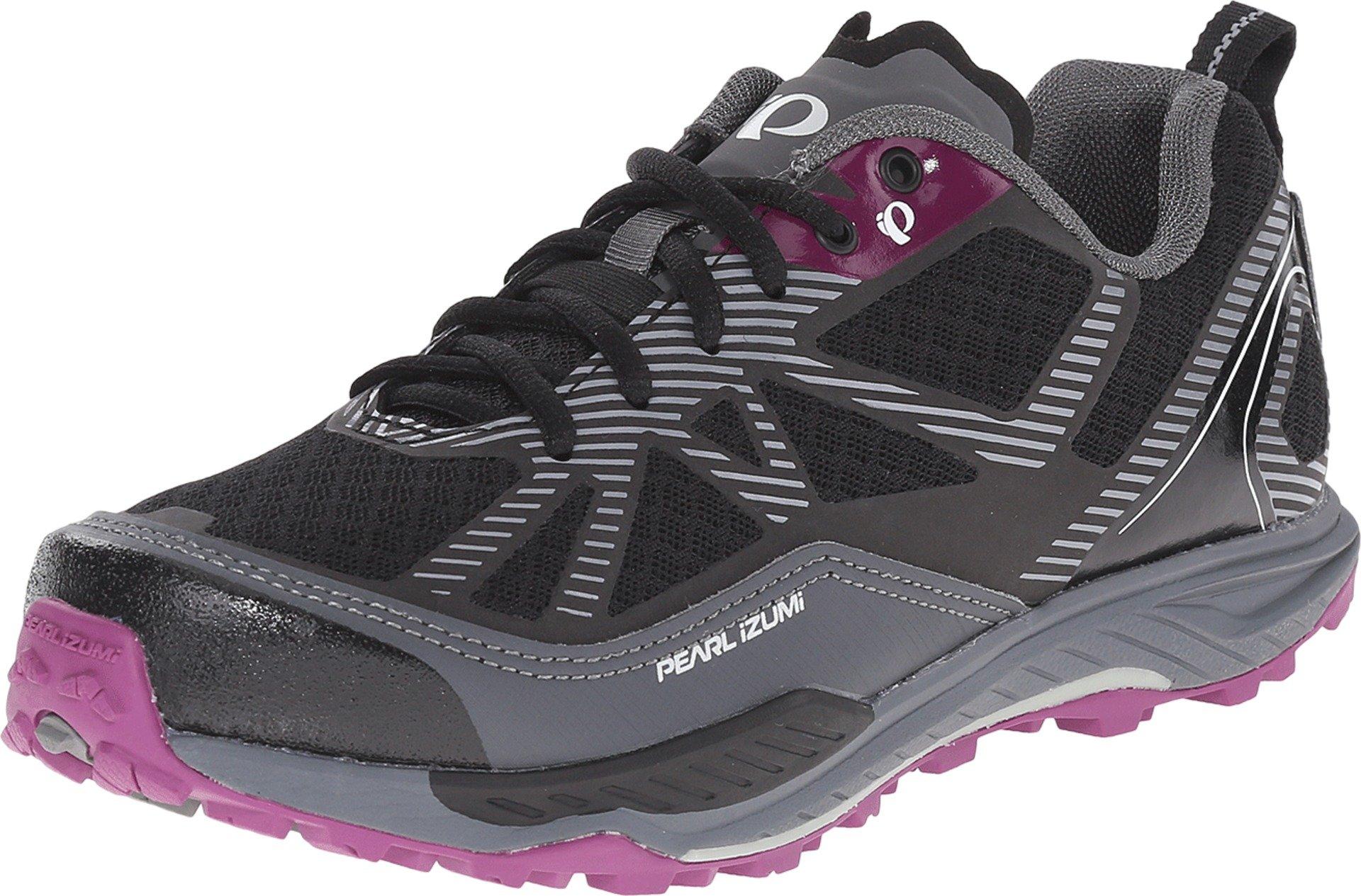Pearl Izumi Women's W X-ALP Seek VII Cycling Shoe, Black/Belgian Block, 42 EU/10 B US