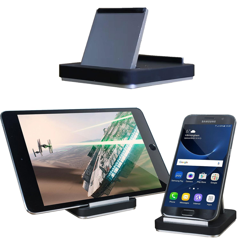 Olixar Smartphone and Tablet Desk Stand Vista Holder - Adjustable Multi  Angle Mount - Universal Compatibility