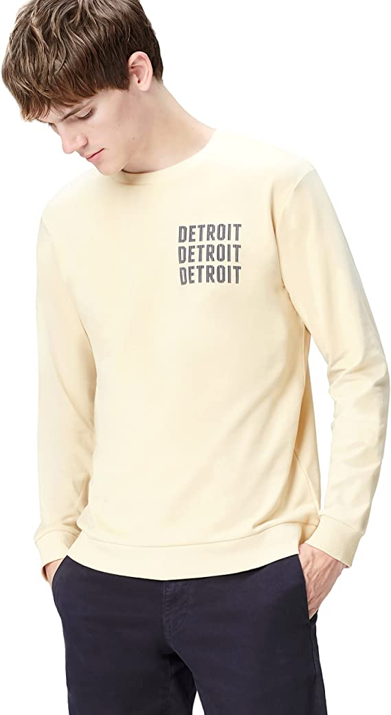 TALLA M. Marca Amazon - find. Sudadera Detroit para Hombre